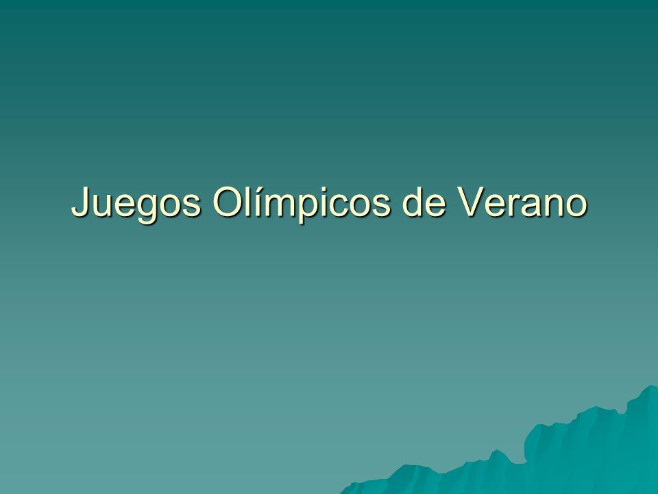 Juegos Olímpicos de Verano