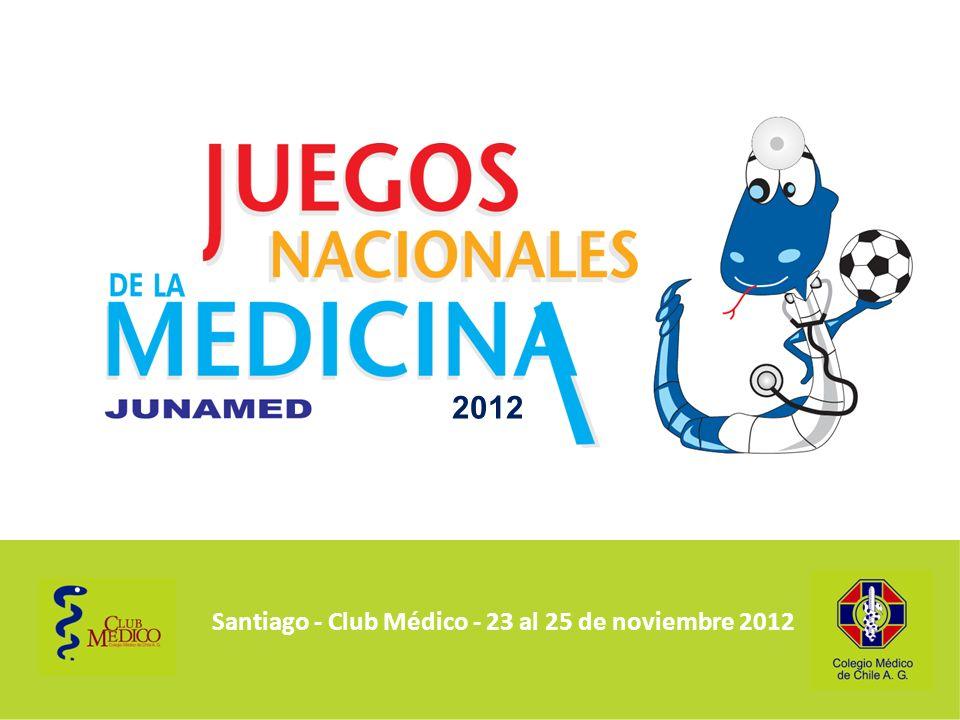 2012 Santiago - Club Médico - 23 al 25 de noviembre 2012