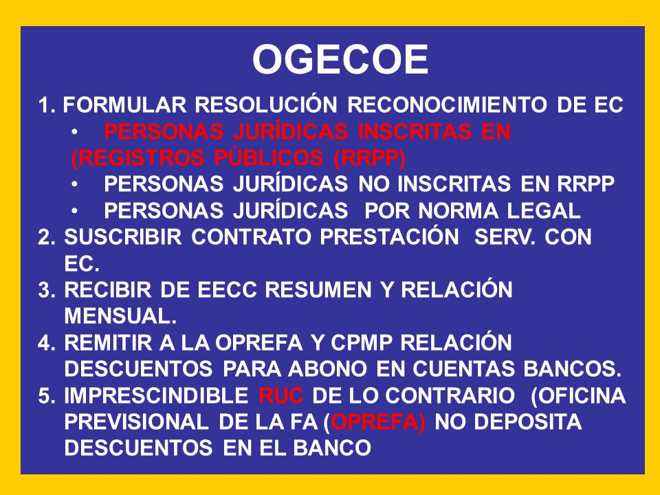 OGECOE FORMULAR RESOLUCIÓN RECONOCIMIENTO DE EC
