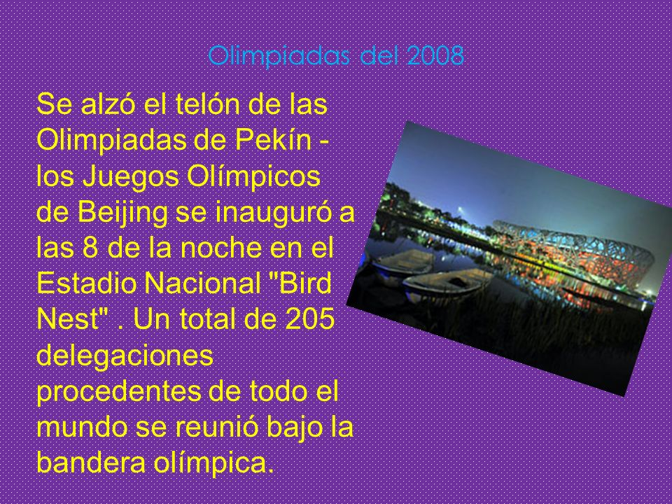 Olimpiadas del 2008