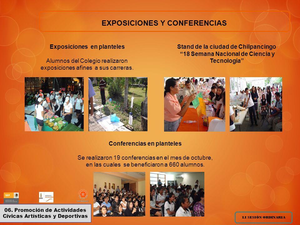 EXPOSICIONES Y CONFERENCIAS