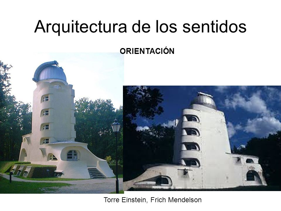 Arquitectura de los sentidos
