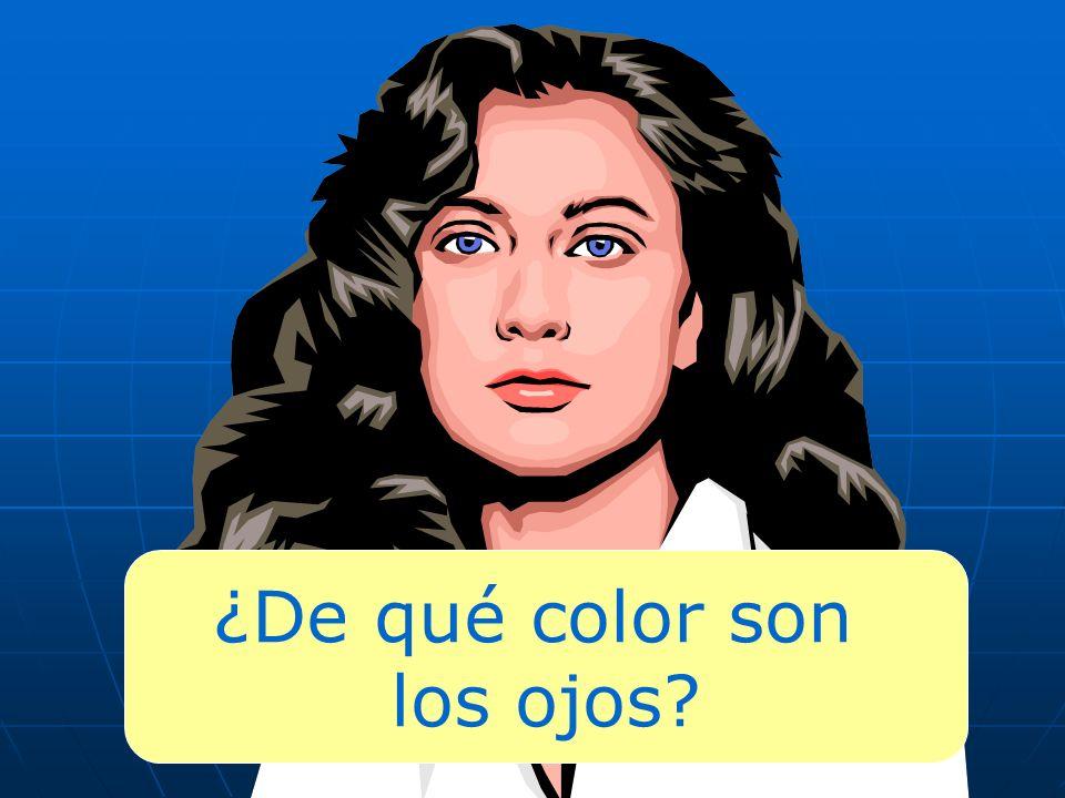 ¿De qué color son los ojos