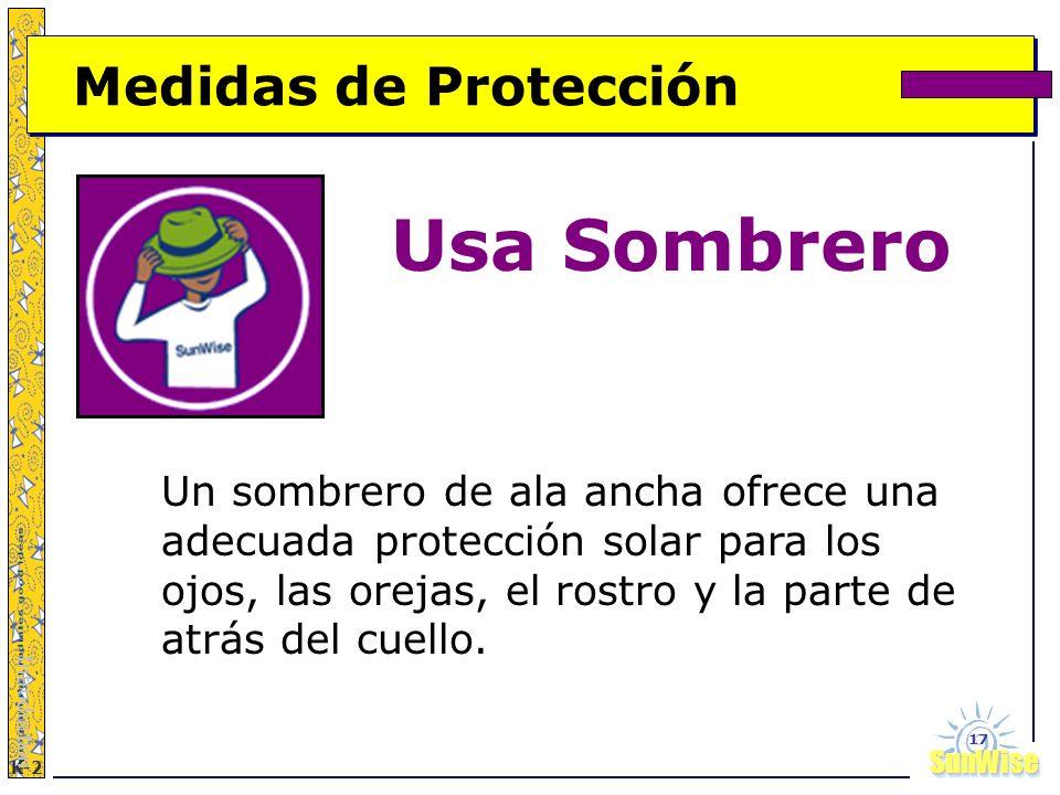 Usa Sombrero Medidas de Protección