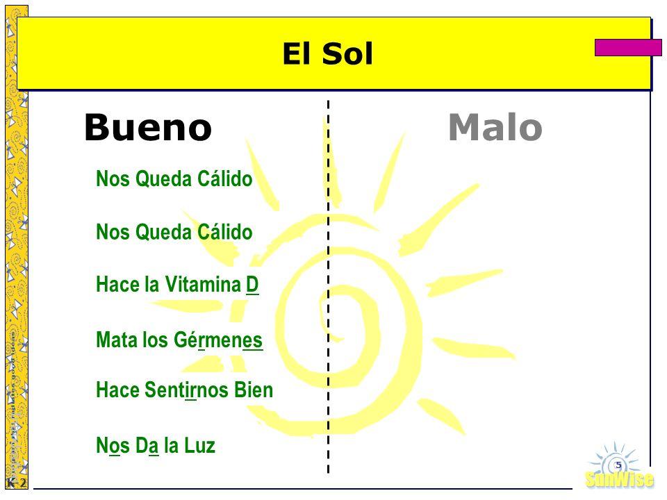 Bueno Malo El Sol Nos Queda Cálido Nos Queda Cálido Hace la Vitamina D