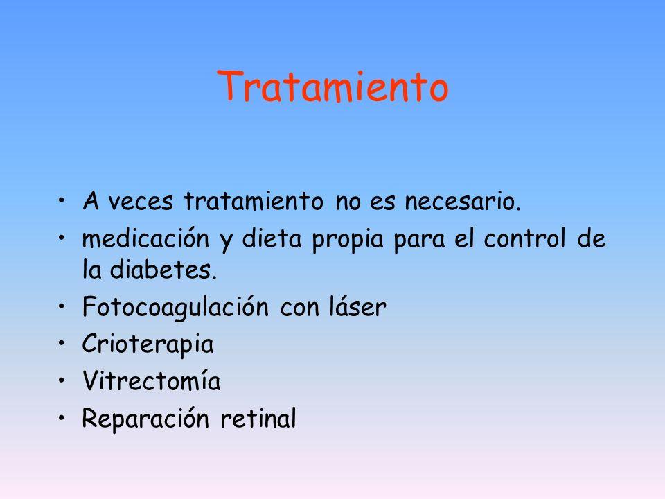 Tratamiento A veces tratamiento no es necesario.