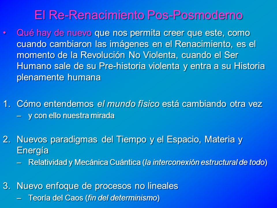 El Re-Renacimiento Pos-Posmoderno