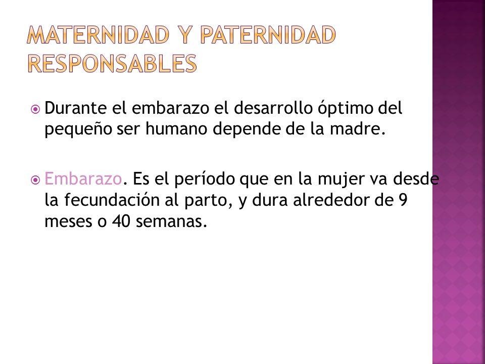 Maternidad y Paternidad responsables