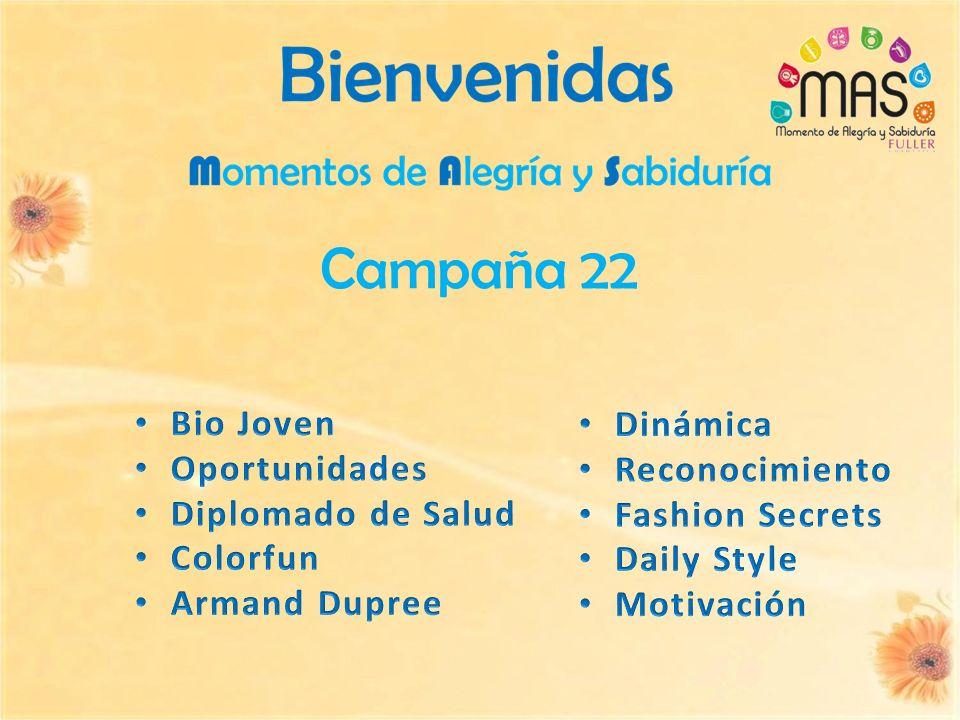Campaña 22 Bio Joven Dinámica Oportunidades Reconocimiento