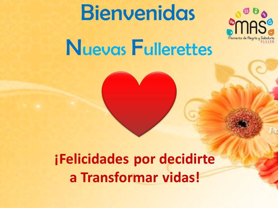 ¡Felicidades por decidirte a Transformar vidas!
