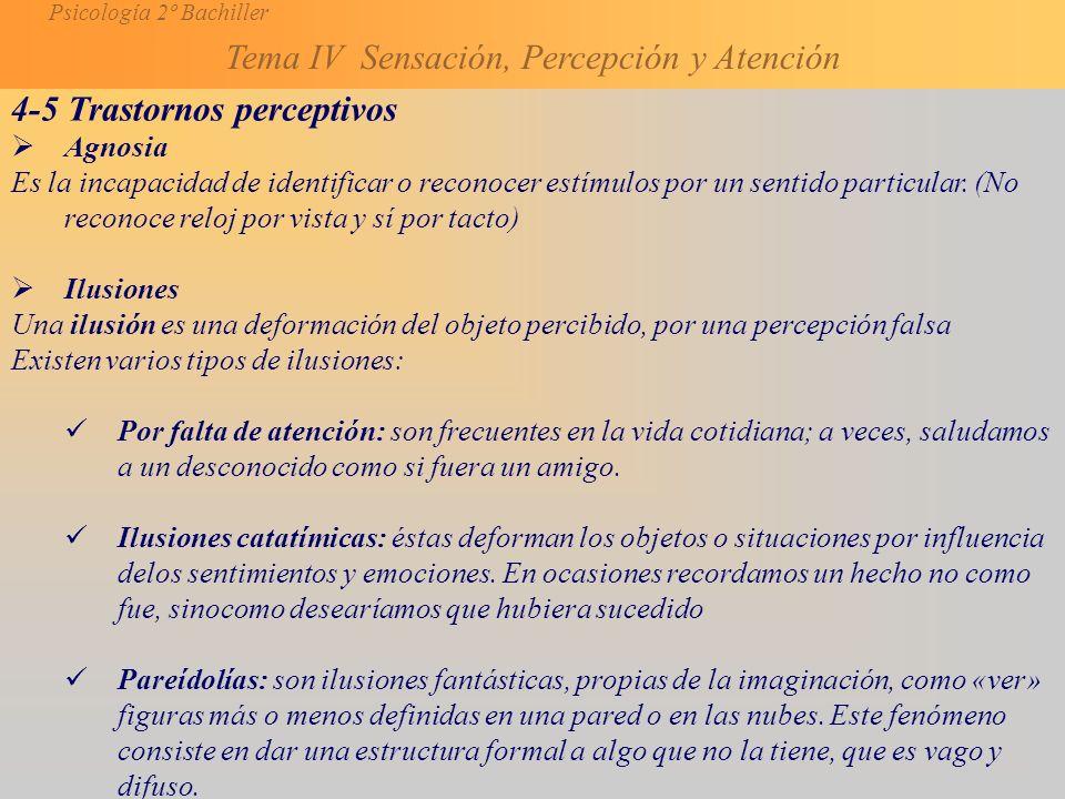 4-5 Trastornos perceptivos