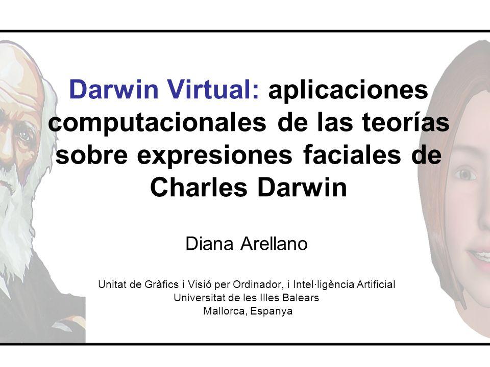Darwin Virtual: aplicaciones computacionales de las teorías sobre expresiones faciales de Charles Darwin