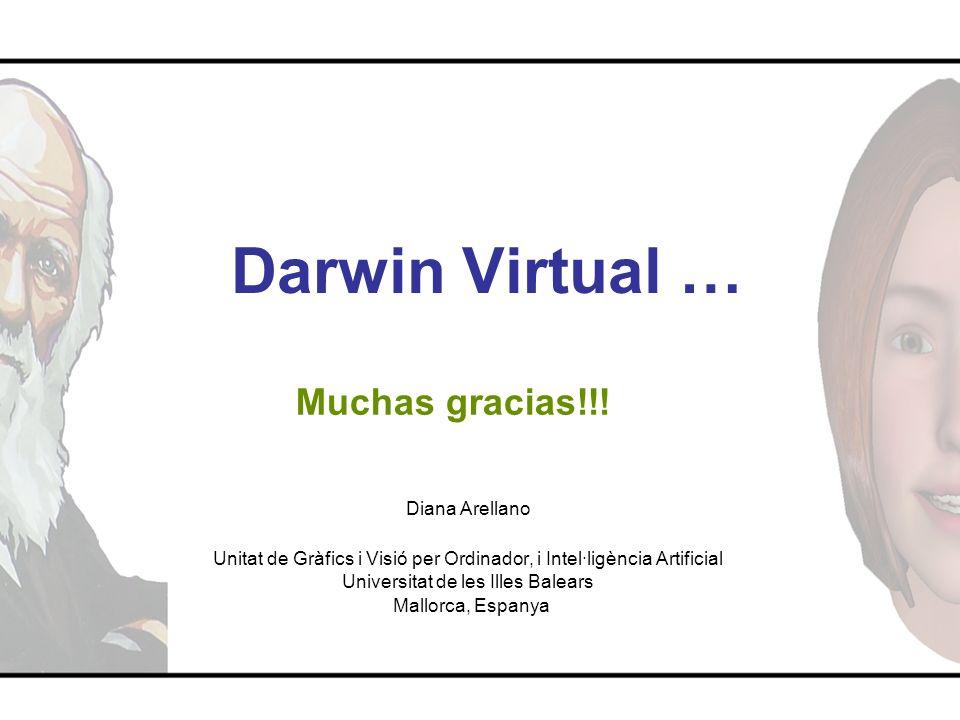 Darwin Virtual … Muchas gracias!!! Diana Arellano