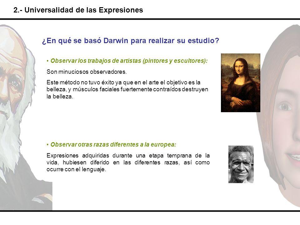 2.- Universalidad de las Expresiones