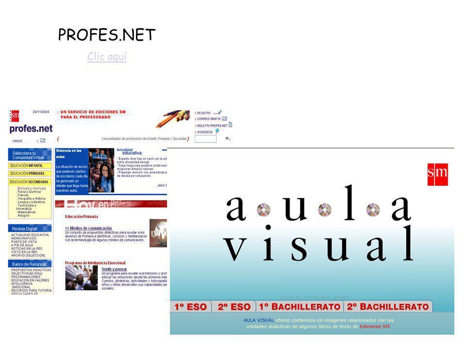 PROFES.NET Clic aquí