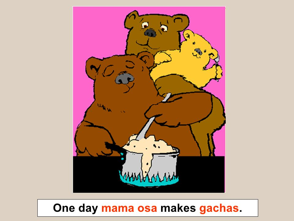One day mama osa makes gachas.