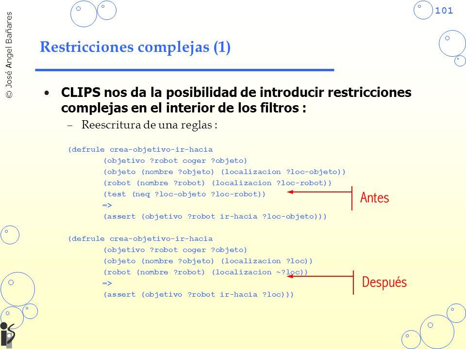Restricciones complejas (1)