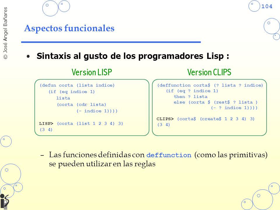 Version LISP Version CLIPS