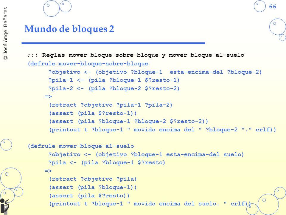 Mundo de bloques 2 ;;; Reglas mover-bloque-sobre-bloque y mover-bloque-al-suelo. (defrule mover-bloque-sobre-bloque.