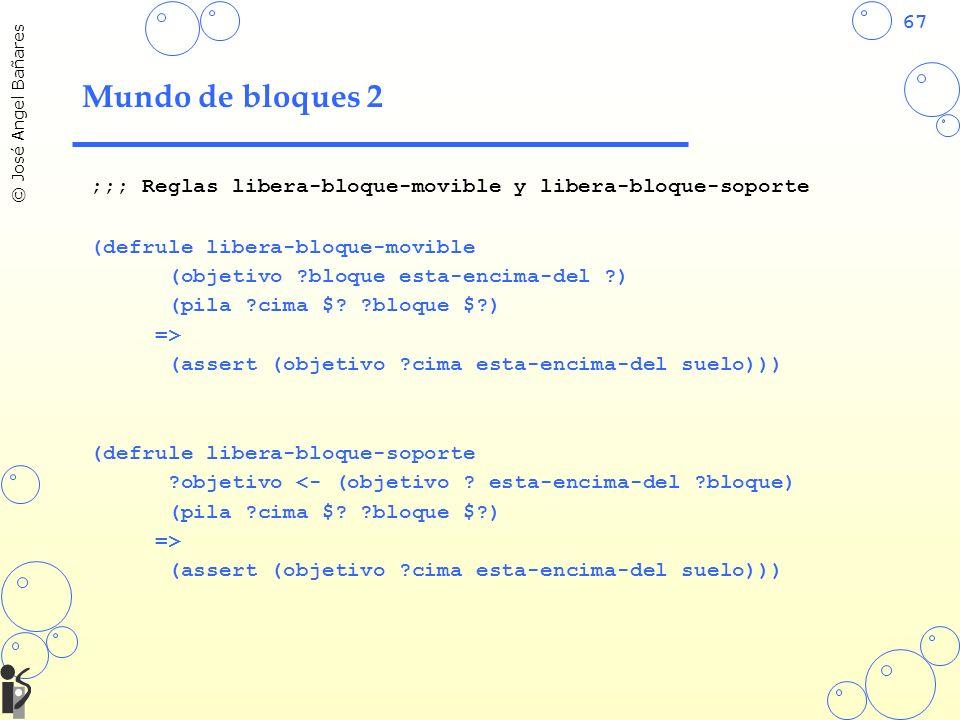Mundo de bloques 2 ;;; Reglas libera-bloque-movible y libera-bloque-soporte. (defrule libera-bloque-movible.