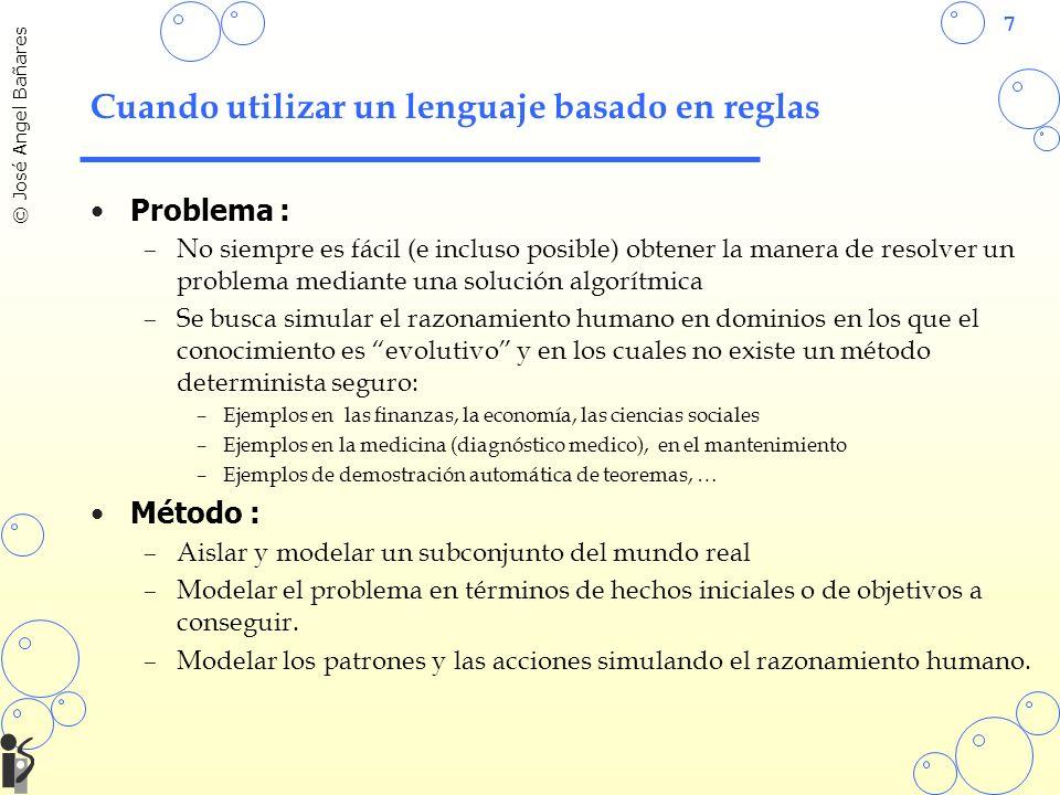 Cuando utilizar un lenguaje basado en reglas