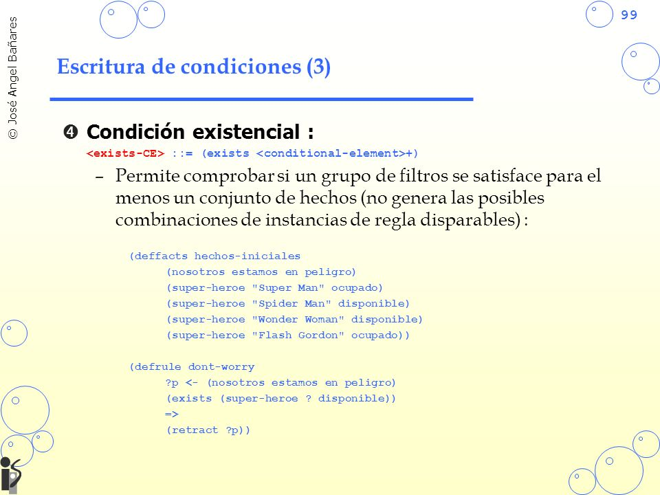 Escritura de condiciones (3)