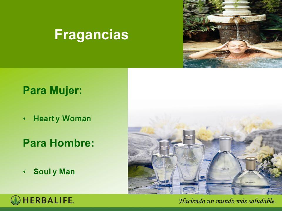Fragancias Para Mujer: Heart y Woman Para Hombre: Soul y Man