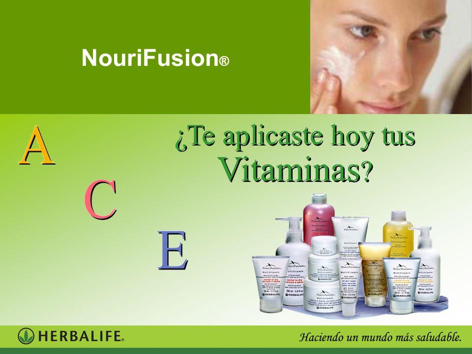 ¿Te aplicaste hoy tus Vitaminas