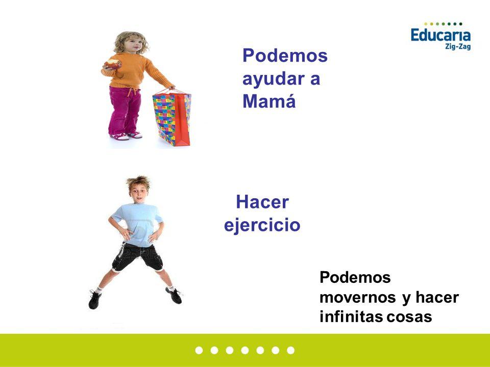 Podemos ayudar a Mamá Hacer ejercicio