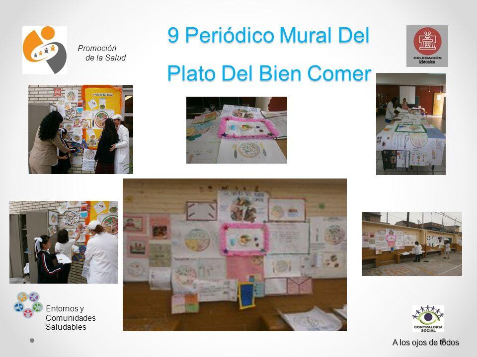 9 Periódico Mural Del Plato Del Bien Comer