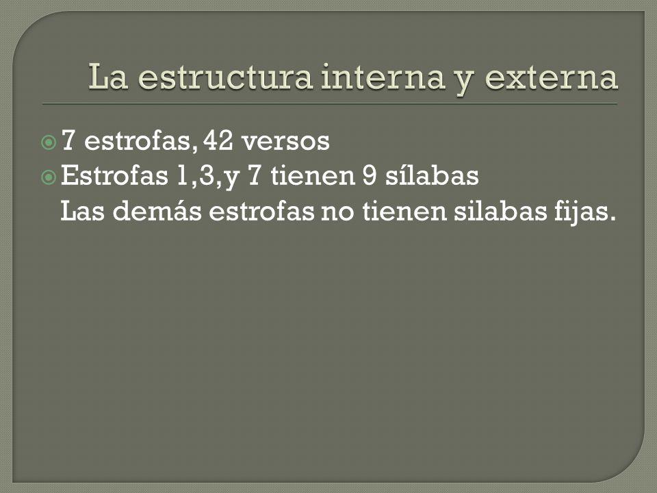 La estructura interna y externa