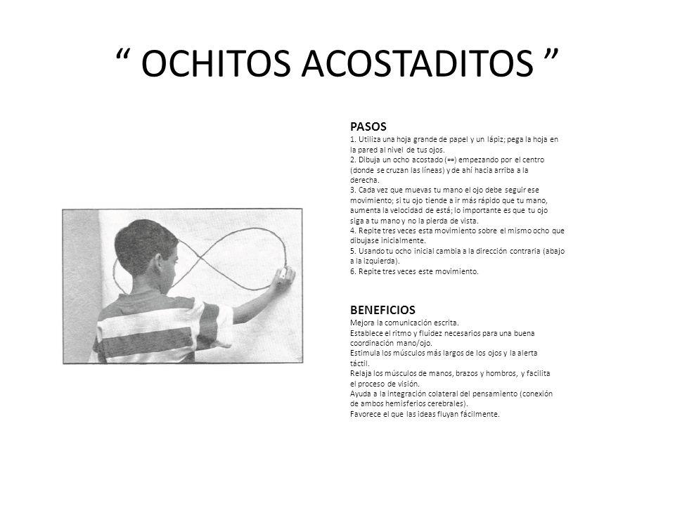OCHITOS ACOSTADITOS