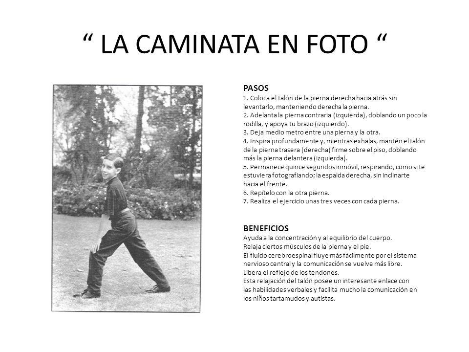 LA CAMINATA EN FOTO PASOS BENEFICIOS