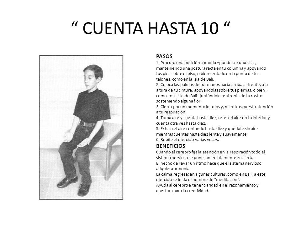 CUENTA HASTA 10 PASOS BENEFICIOS