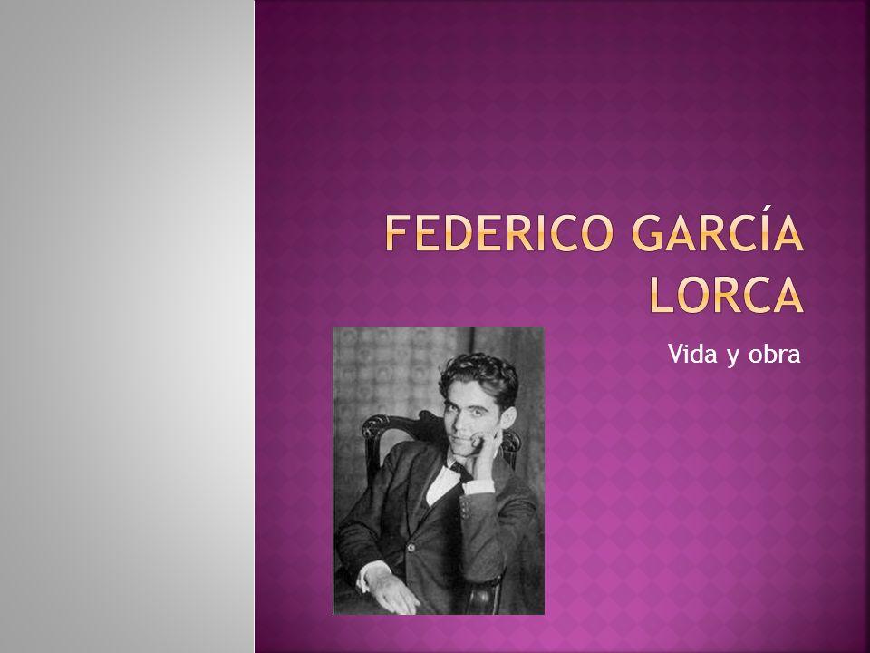 Federico García Lorca Vida y obra