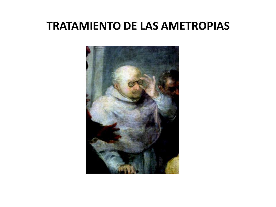 TRATAMIENTO DE LAS AMETROPIAS