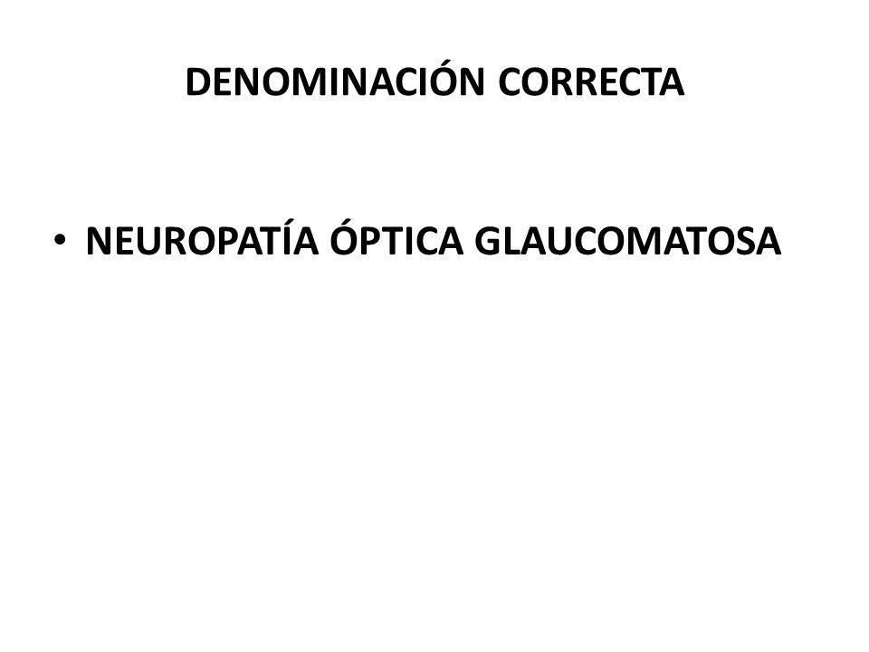 DENOMINACIÓN CORRECTA