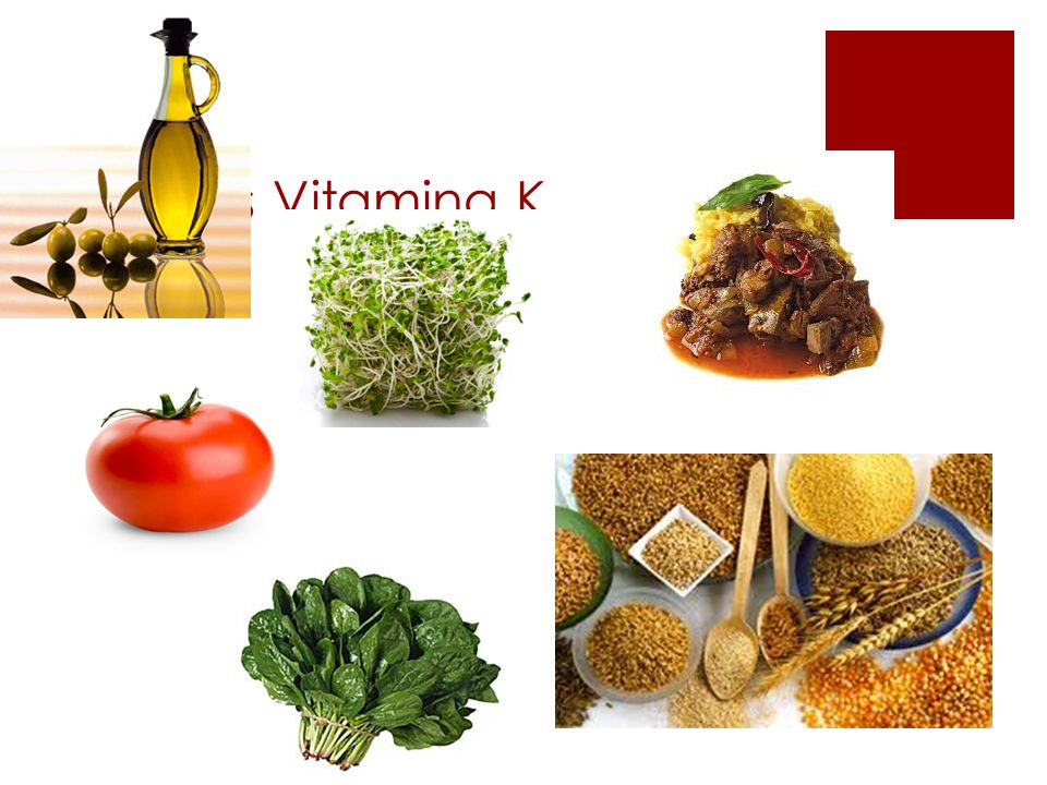 Fuentes Vitamina K