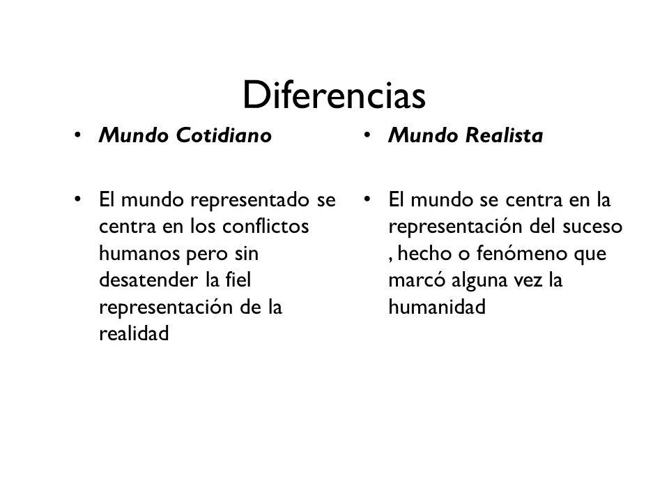 Diferencias Mundo Cotidiano