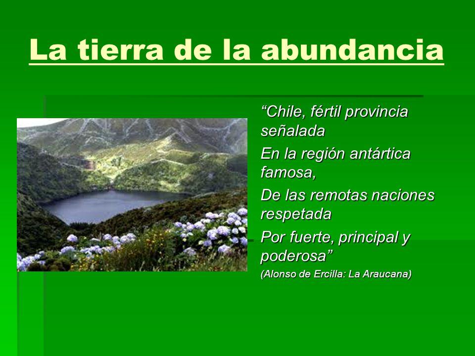 La tierra de la abundancia