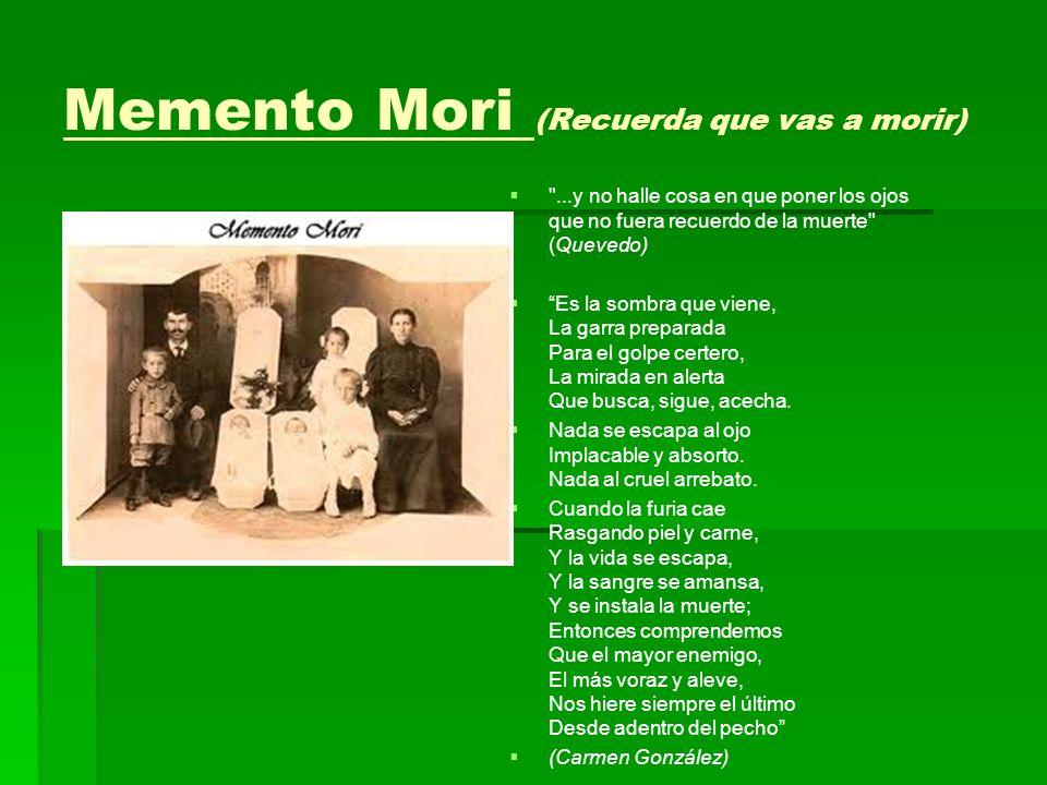 Memento Mori (Recuerda que vas a morir)