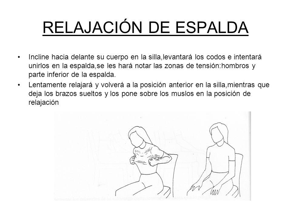 RELAJACIÓN DE ESPALDA