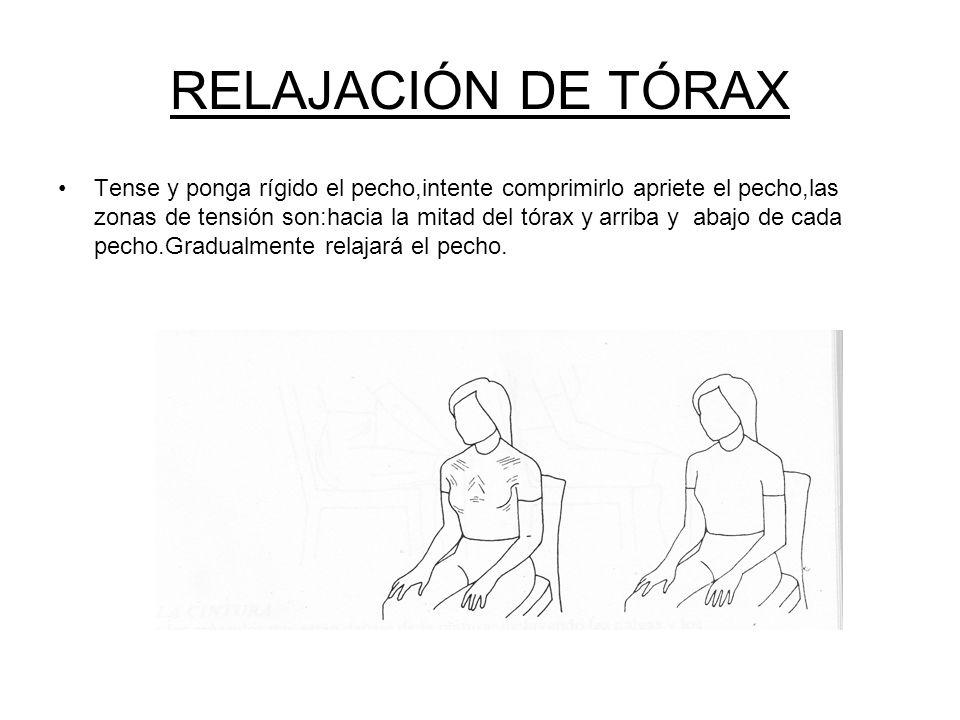 RELAJACIÓN DE TÓRAX