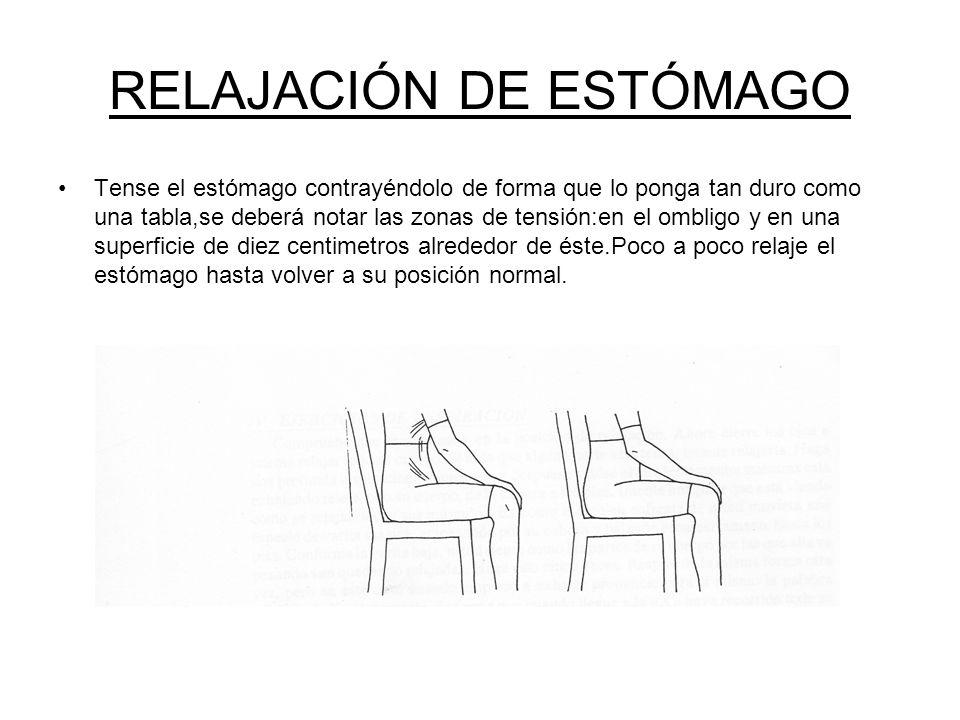 RELAJACIÓN DE ESTÓMAGO
