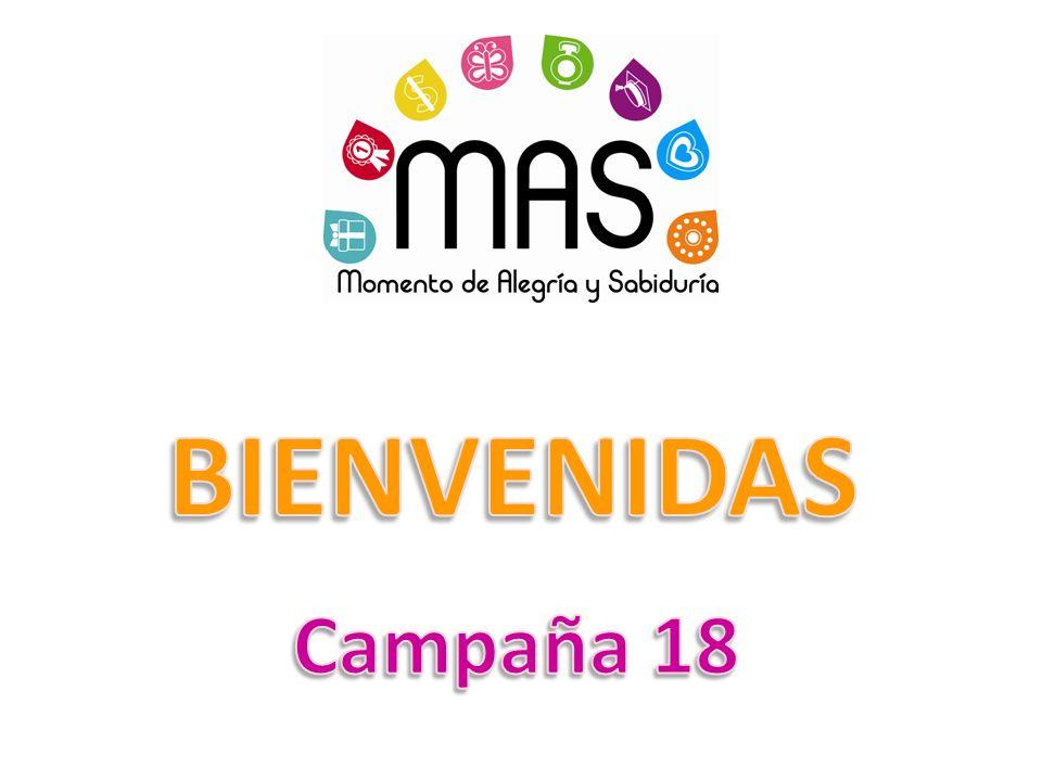 BIENVENIDAS Campaña 18