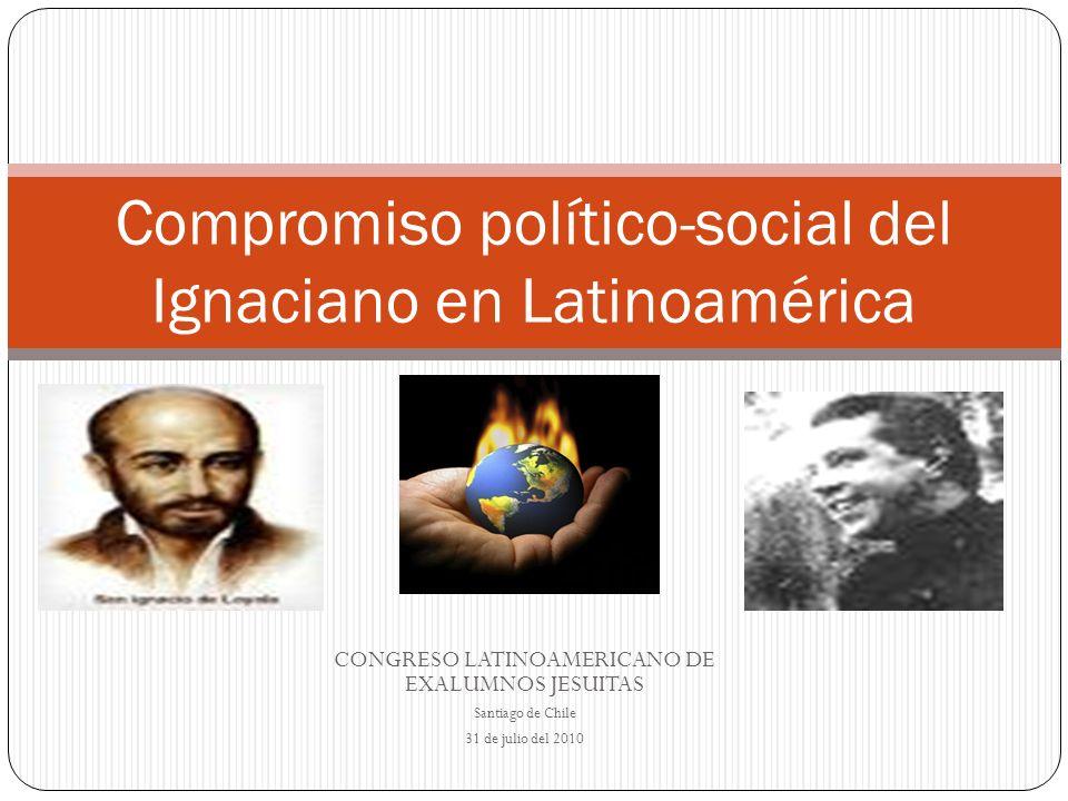 Compromiso político-social del Ignaciano en Latinoamérica