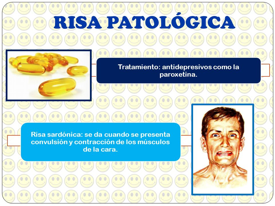 Tratamiento: antidepresivos como la paroxetina.