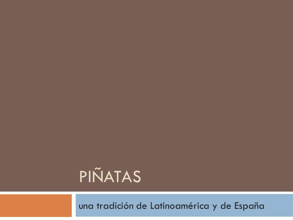 una tradición de Latinoamérica y de España
