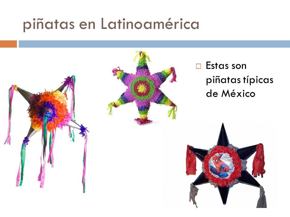 piñatas en Latinoamérica