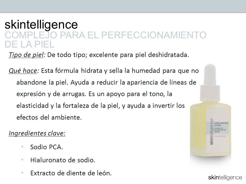 skintelligence COMPLEJO PARA EL PERFECCIONAMIENTO DE LA PIEL